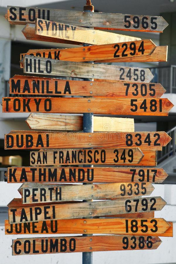 Download The Distance from Here stock photo. Image of international - 4170824