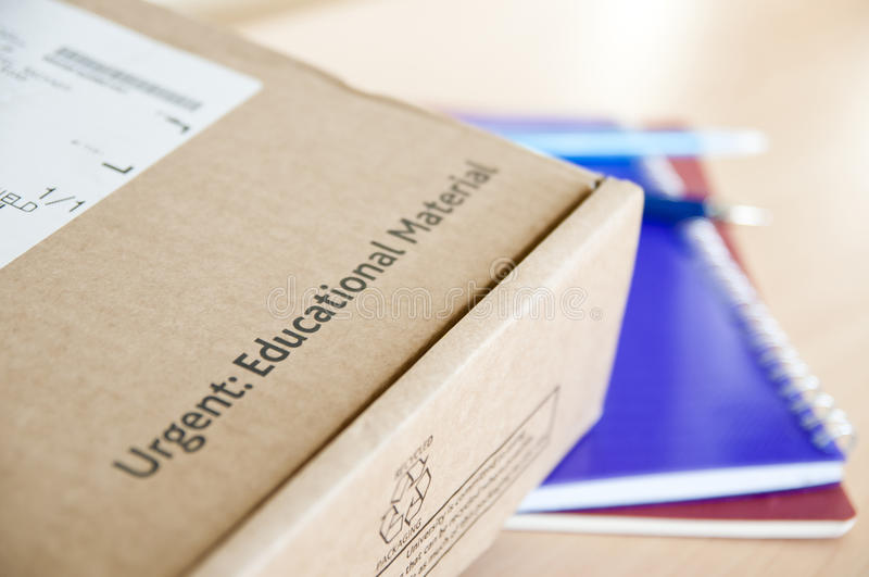 Download Distance learning delivery stock image. Image of material - 22706413