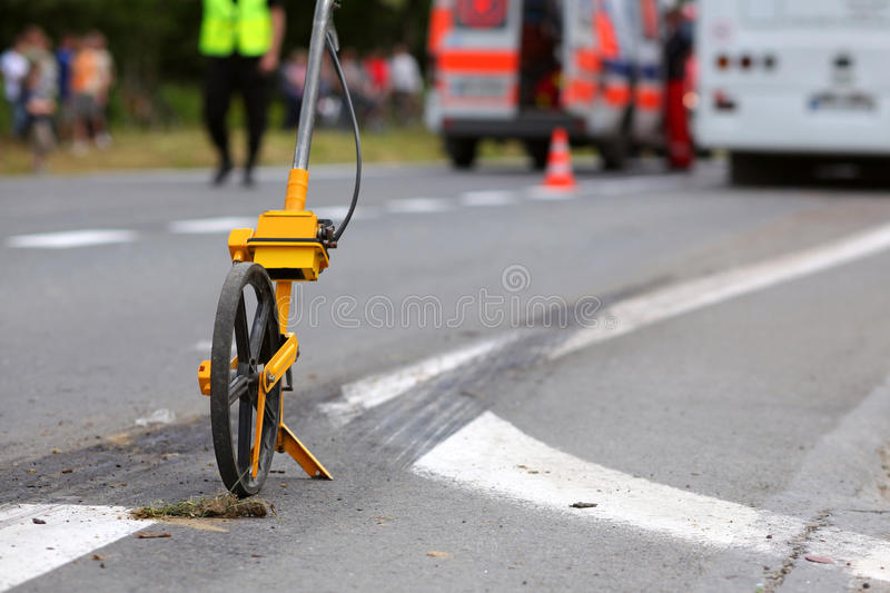 Download Distance Measuring Wheels Royalty Free Stock Photo - Image: 16388315