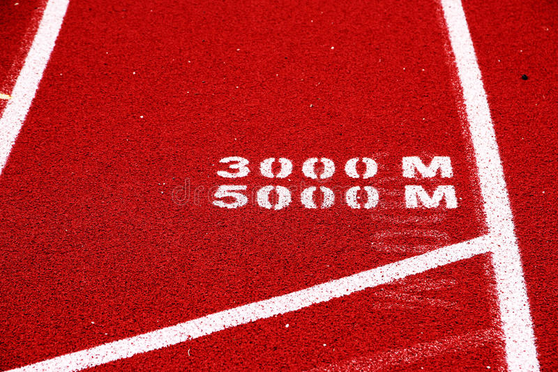 Download Distance race start line stock photo. Image of line, meter - 94562950