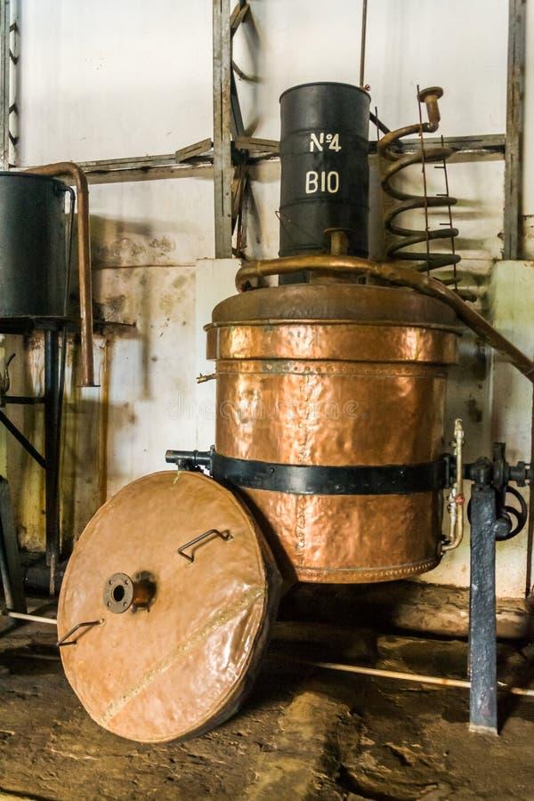 distilleerderij stock foto's