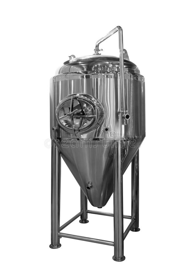 Distiller tank extractor isolated on a white background.  royalty free stock images