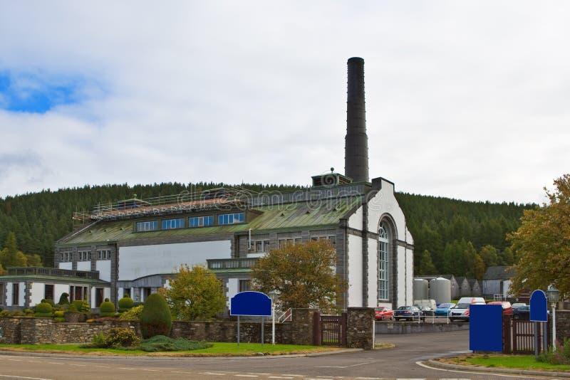 Distilleria di Tormore fotografie stock