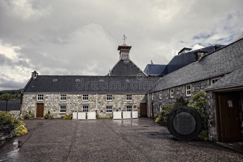 Distilleria scozzese fotografie stock libere da diritti