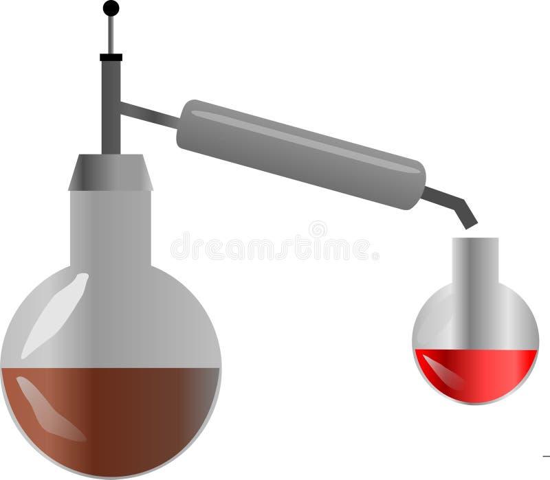 distillerie illustration de vecteur