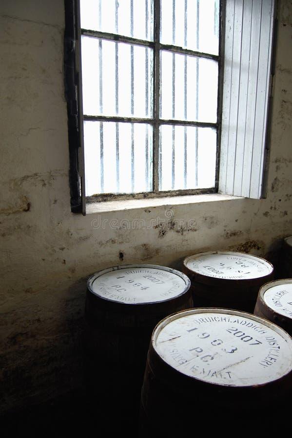 distillerie de bruichladdich photographie stock libre de droits