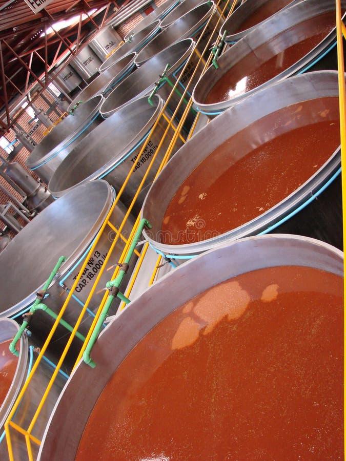 Distillerie de Tequila photo libre de droits