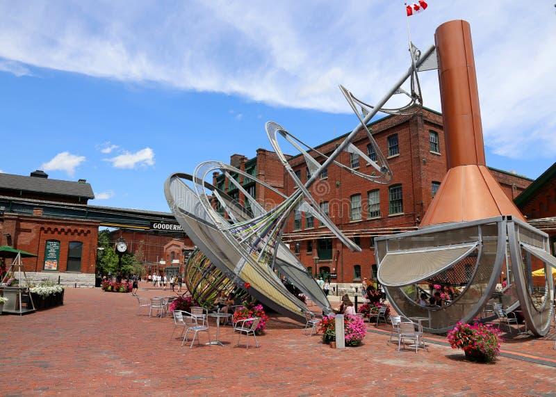 Distillerie de Toronto images stock
