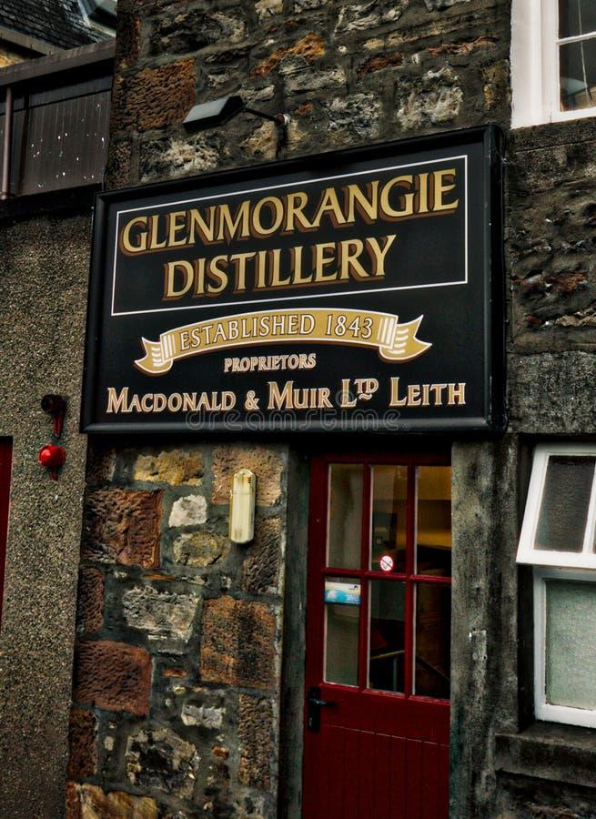 Distillerie Ecosse de Glenmorangie photo libre de droits