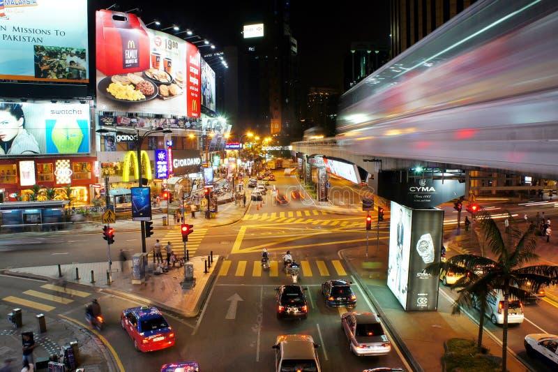 distination普遍的吉隆坡 图库摄影
