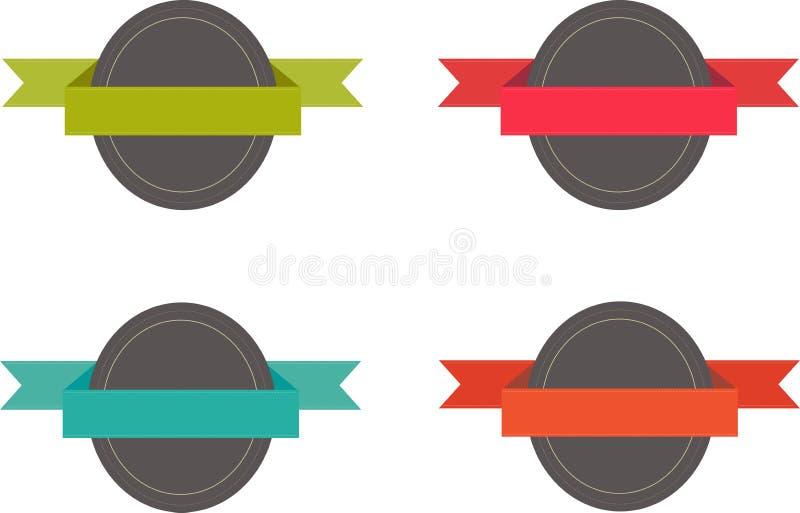Distintivi per i siti Web royalty illustrazione gratis