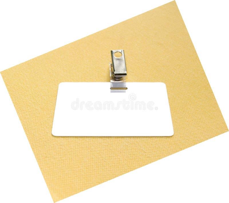 Distintivo fotografie stock libere da diritti