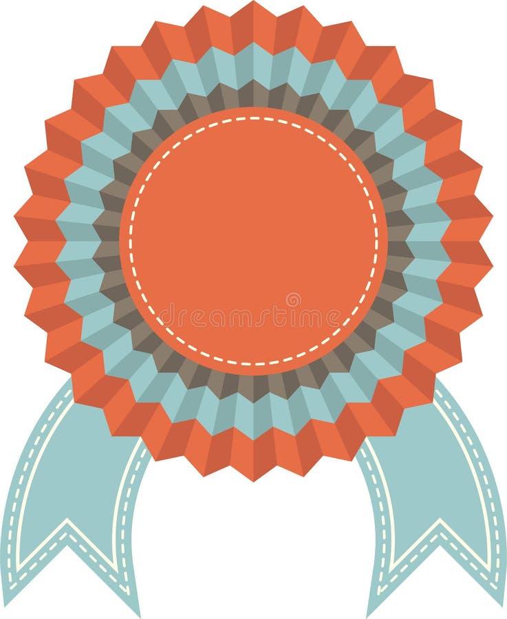 Distintivo del premio illustrazione vettoriale