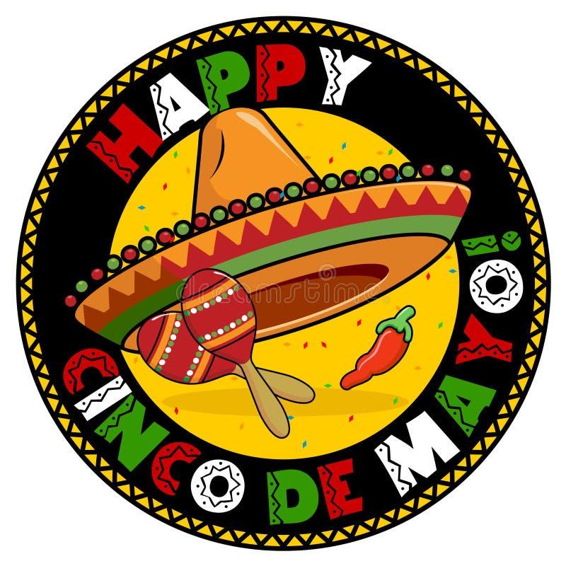 Distintivo di Cinco De Mayo