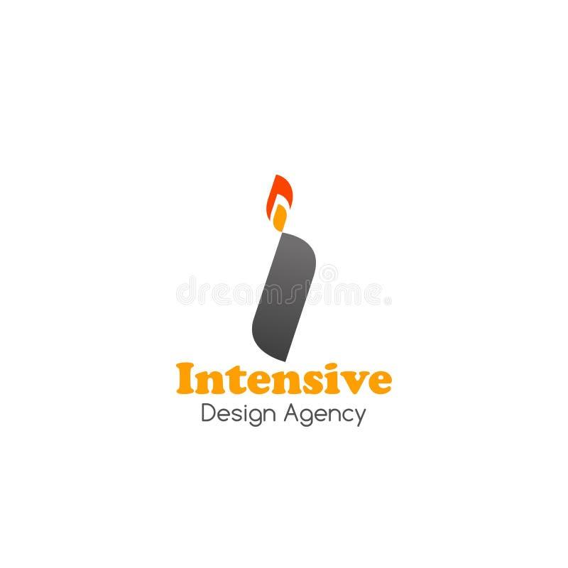 Distintivo di vettore per l'agenzia di progettazione royalty illustrazione gratis