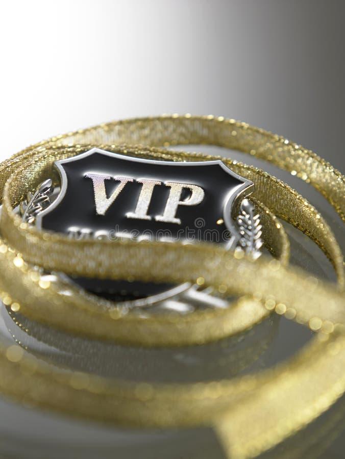 Distintivo di VIP fotografia stock