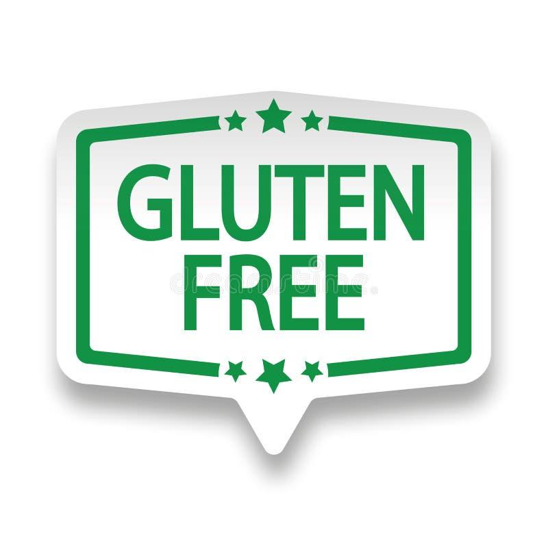 Download Distintivo Libero Dell'etichetta Della Carta Di Web Del Glutine Su Bianco Illustrazione di Stock - Illustrazione di sano, agricoltura: 117978345