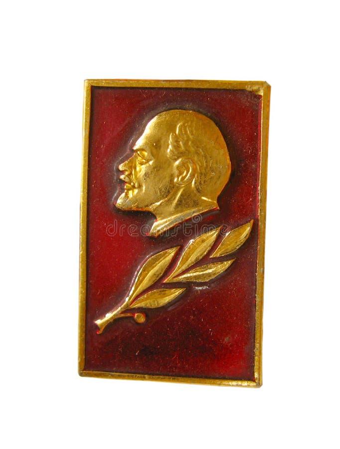 Distintivo sovietico fotografie stock libere da diritti