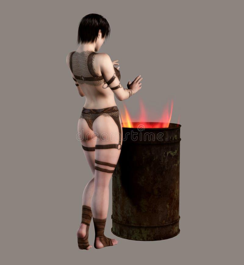 Download Distopian Girl stock illustration. Illustration of creative - 13264511