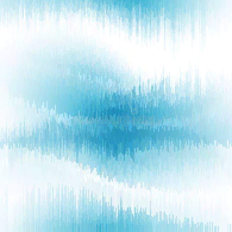 Distorção dos dados de imagem de Digitas Fundo do pulso aleatório do vetor ilustração royalty free