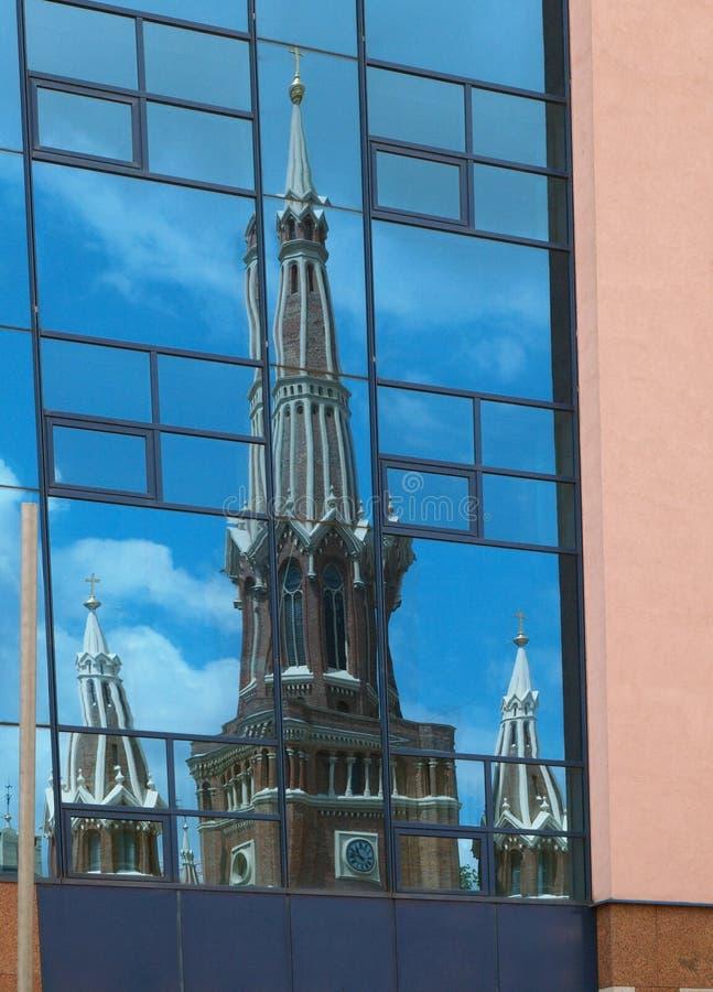Download Distorsione immagine stock. Immagine di poland, cityscape - 56883589
