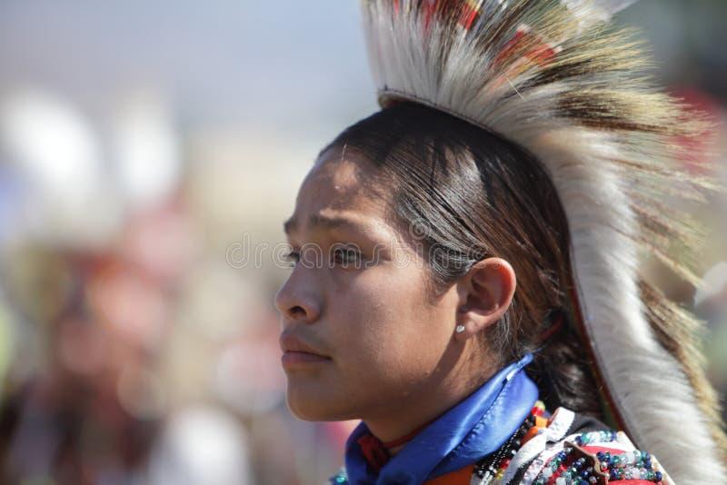 Distorsione di velocità del prigioniero di guerra degli indiani del San Manuel - 2012 immagini stock