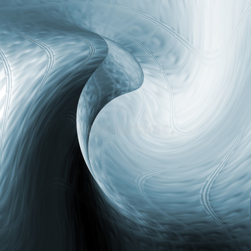 Distorted Abstract Pattern Royalty Free Stock Image