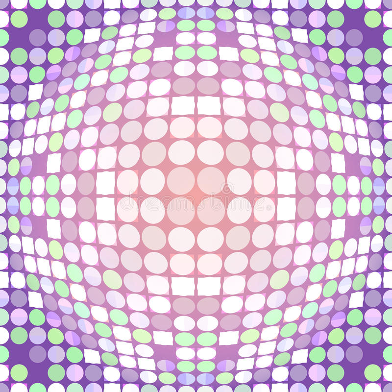 Download Distorted circles stock illustration. Image of halftone - 34560429