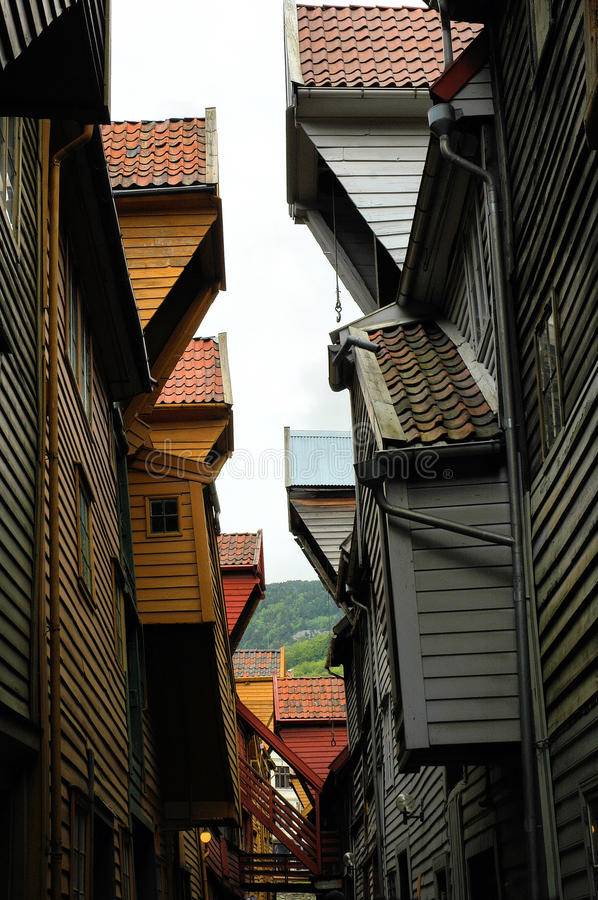 Download Distorted houses stock image. Image of wood, ancient - 15643853
