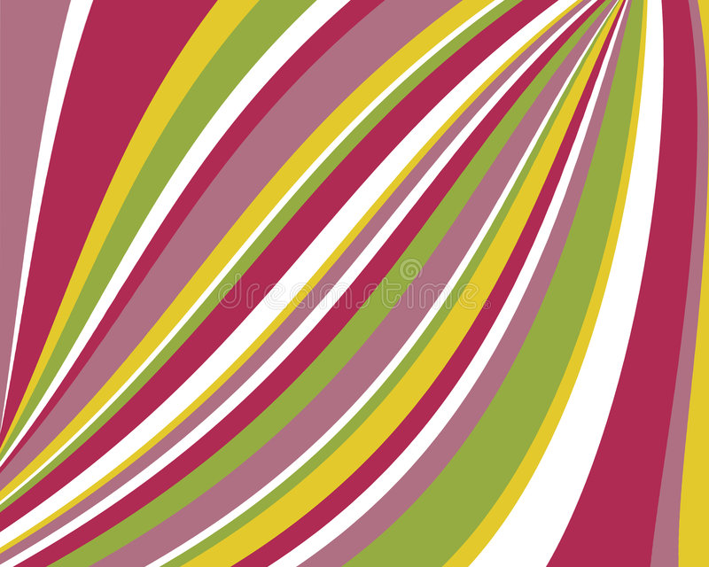 Download Distorted Retro Colorful Stripes Background Stock Illustration - Image: 5403644