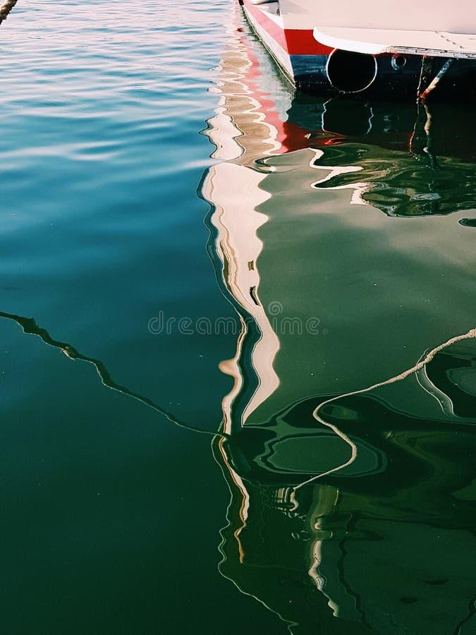 Distracción en agua fotografía de archivo libre de regalías