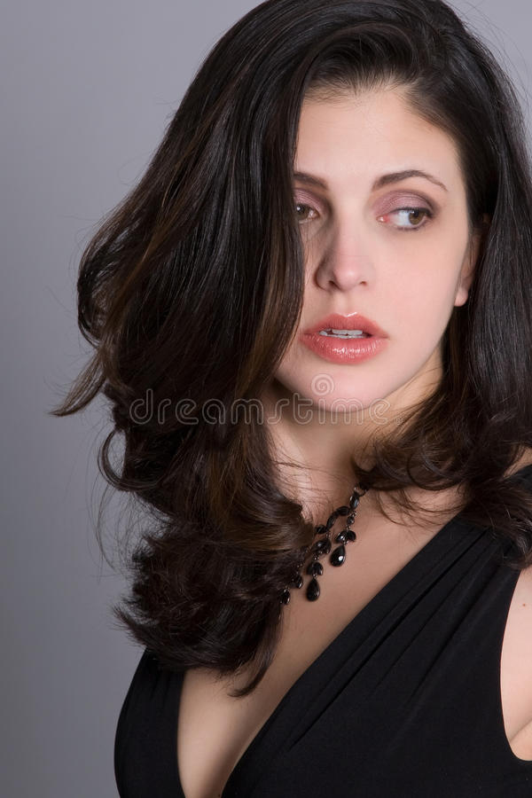 Download Distracted stock image. Image of female, long, emotion - 16224173