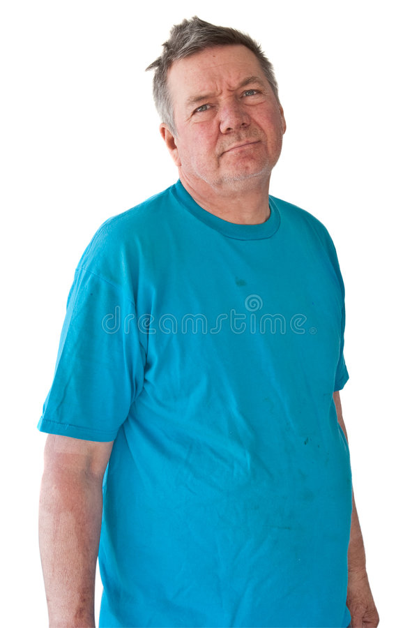 Download Distraught Mature Man stock image. Image of distraught - 8300107