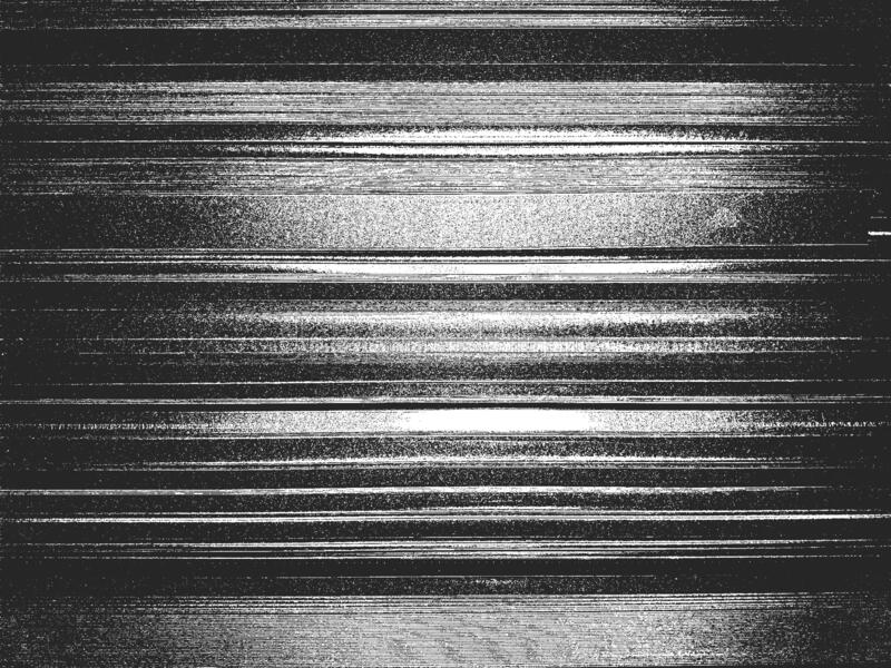 Distress metal plate vector texture. EPS8 illustration. Black and white grunge background stock illustration