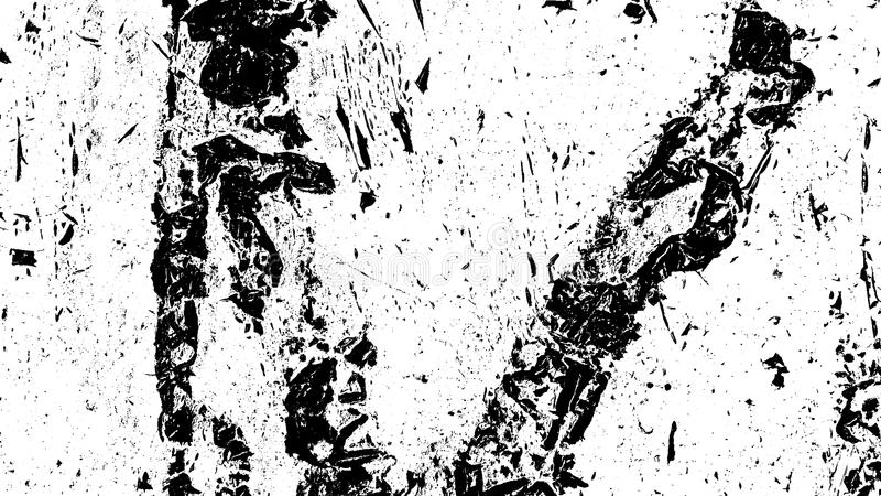 Distress Overlay Texture. Distressed spray grainy overlay texture. Grunge dust messy background. Dirty powder rough empty cover template. Aged splatter crumb vector illustration