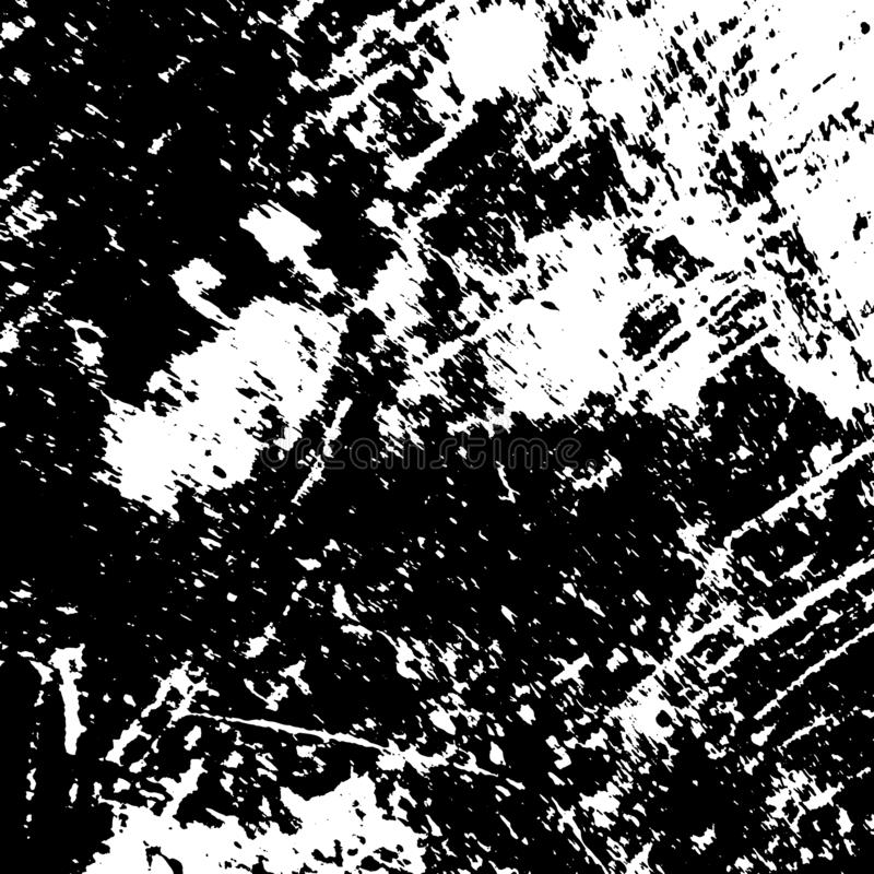 Distress Overlay Texture. Grunge rough dirty background. Overlay aged grainy messy template. Distress urban used texture. Brushed black paint cover. Renovate vector illustration