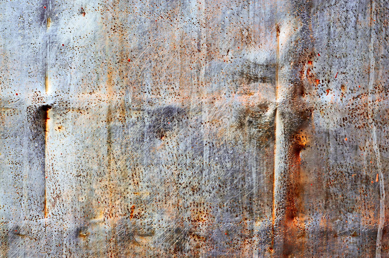 Distress Stainless Steel. Texture for your design stock image