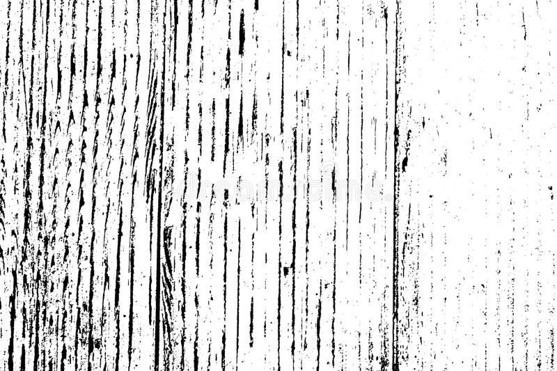 Distress Overlay Texture. Distress urban used texture. Grunge rough dirty background. Brushed black paint cover. Overlay aged grainy messy template. Renovate royalty free illustration