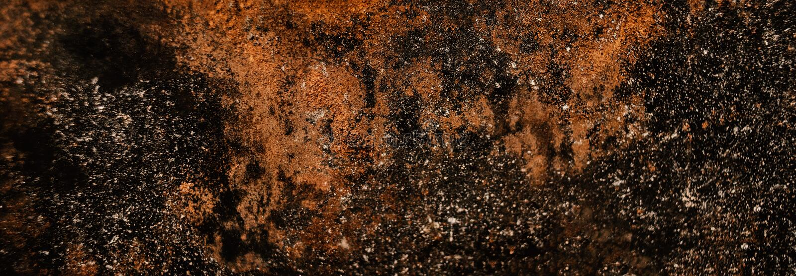 Distress wall metal texture with scratches. Rust Background royalty free stock image