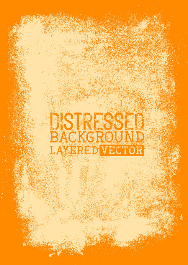 Distressed Background texture royalty free illustration