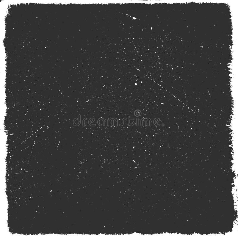 Distressed black overlay texture. Grunge background. Abstract halftone illustration. Stock vector.  stock illustration