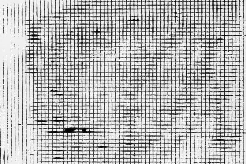 Distressed black pattern on white paper background texture. Distressed monochrome black pattern on white paper background texture royalty free illustration
