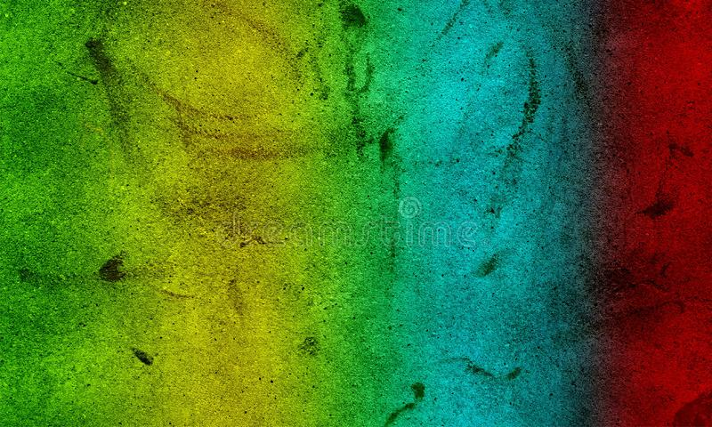 Distressed colourful halftone grunge vector texture grunge texture, rough ragged dark background, plaster stucco wall. vector illustration