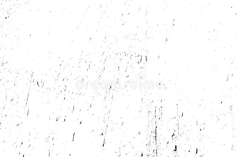 Distressed halftone grunge black and white vector texture -texture of old wall background for creation abstract vintage. Effect with noise and grain vector illustration