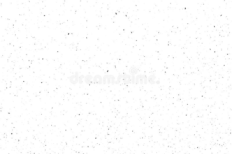 Distressed halftone grunge black and white vector texture - wrapping pack paper background for creation abstract vintage. Design effect with noise, scratch and stock illustration