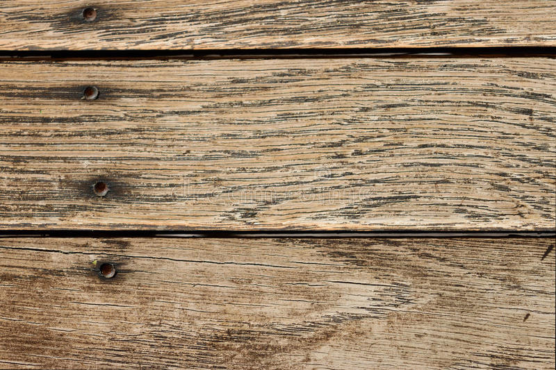 Worn Down Wooden Planks ~ Distressed horizontal wood plank boards background stock