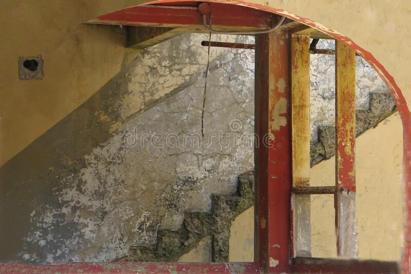 Distressed Interior 2 (angel Island) Free Public Domain Cc0 Image