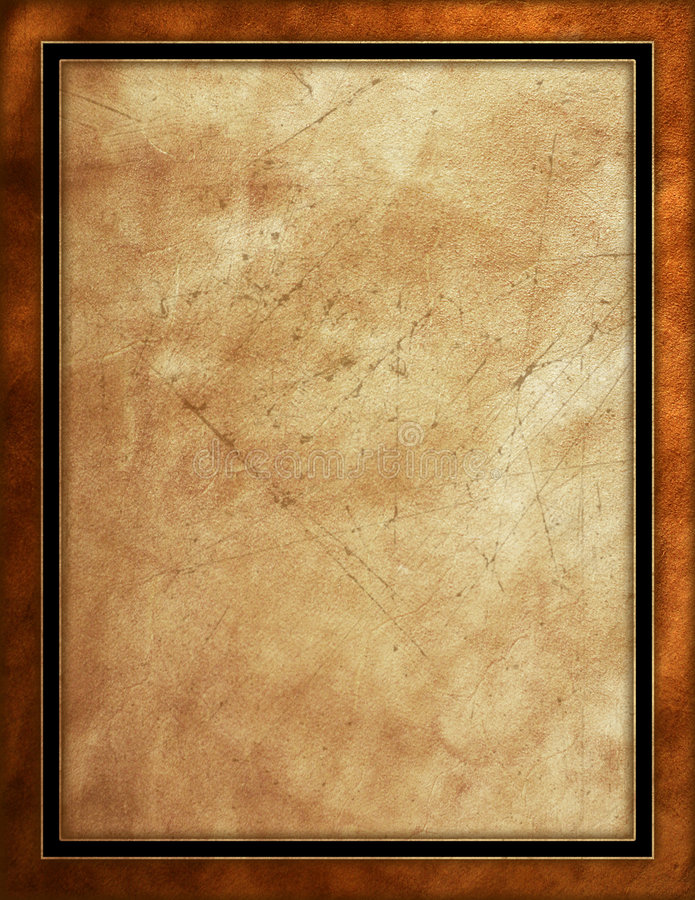 Distressed Leather Background Stock Illustration Image
