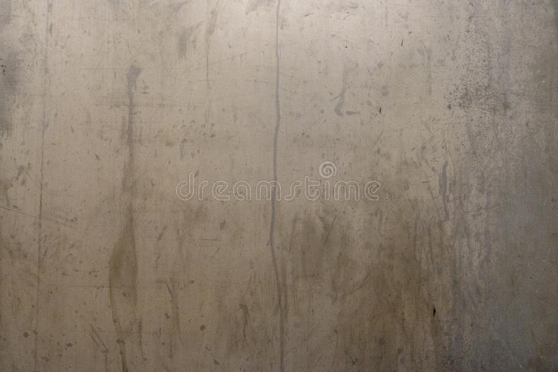Distressed metal background surface with water marks royalty free stock photos