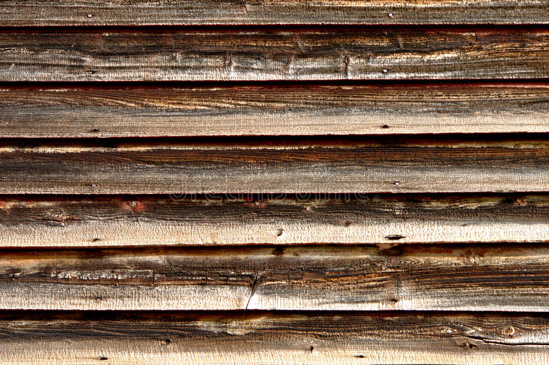 Distressed Old Barn Wood Clapboard Background Royalty Free